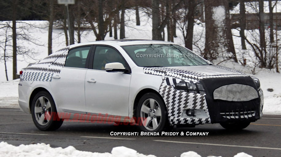 Spy Shots: 2012 Chevrolet Malibu