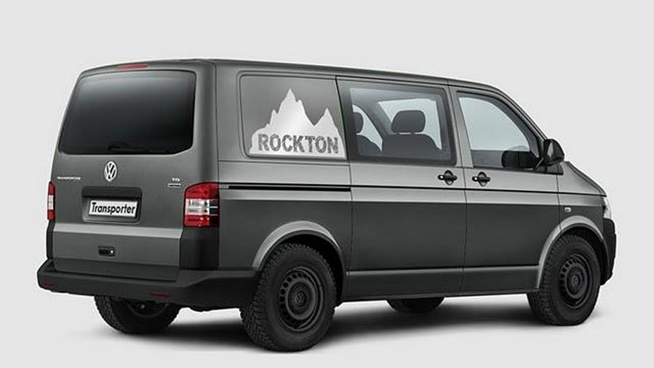 volkswagen transporter takes to the hills with the rockton 4motion autoblog. Black Bedroom Furniture Sets. Home Design Ideas