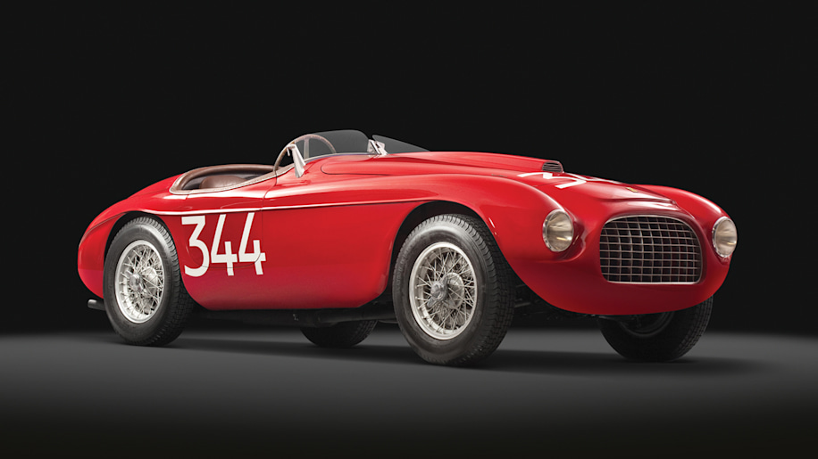 1949 ferrari 166 mm touring barchetta up for grabs from rm