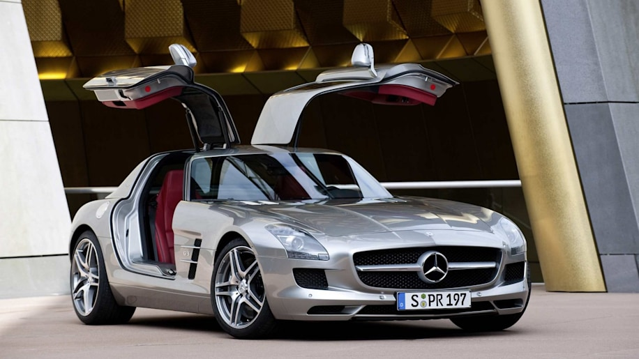 Car of the Year: Mercedes-Benz SLS AMG