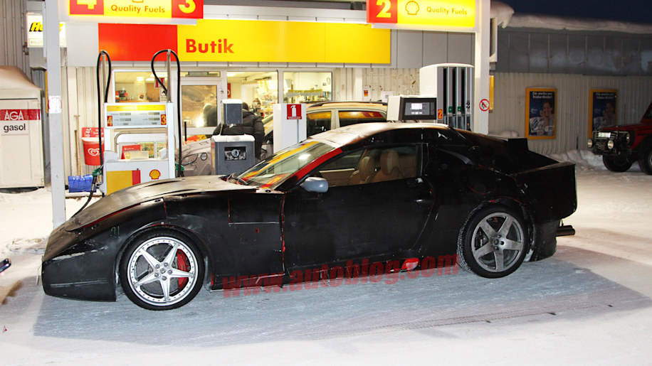 Ferrari 612 Successor spy shots