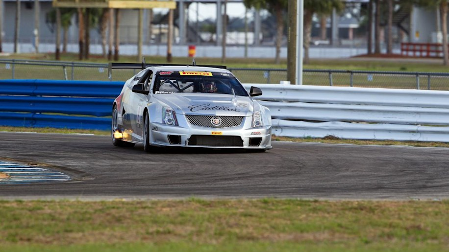 2010 Cadillac CTS V Coupe Race Car photo - 3