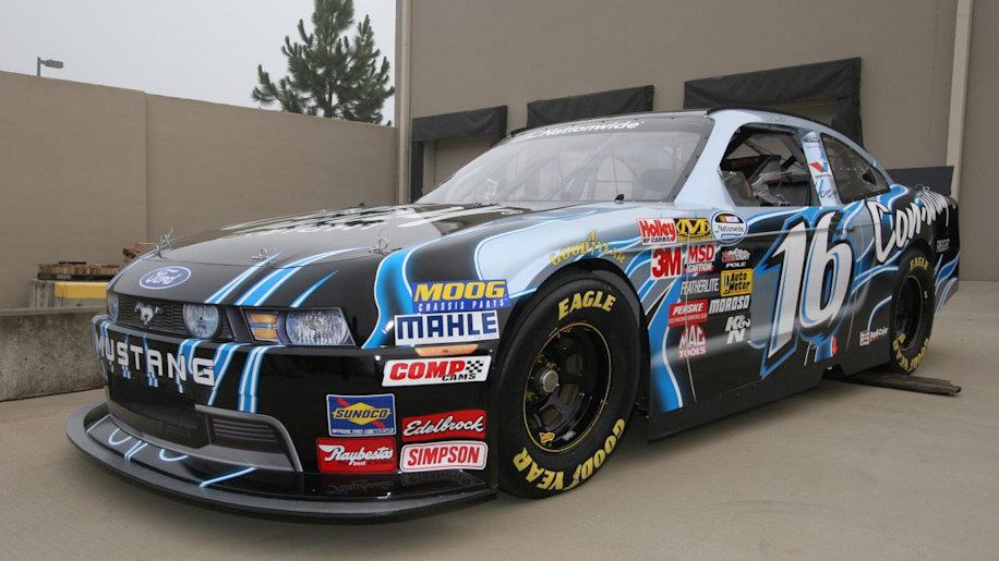 2010 Ford Mustang NASCAR Nationwide Series race car