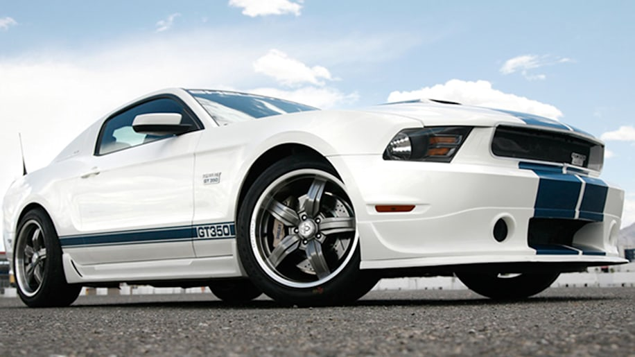 2012 Shelby GT 350 front three quarter view