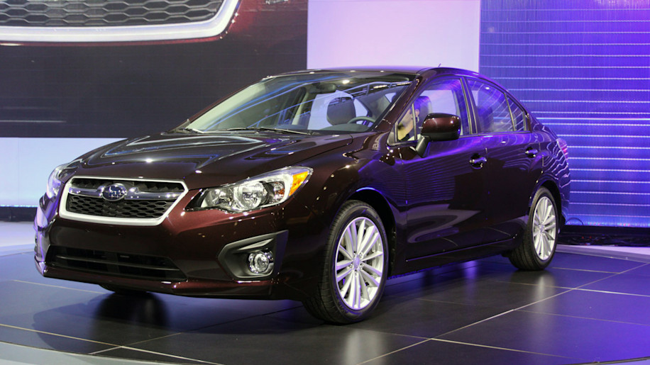 2012 Subaru Impreza: New York 2011