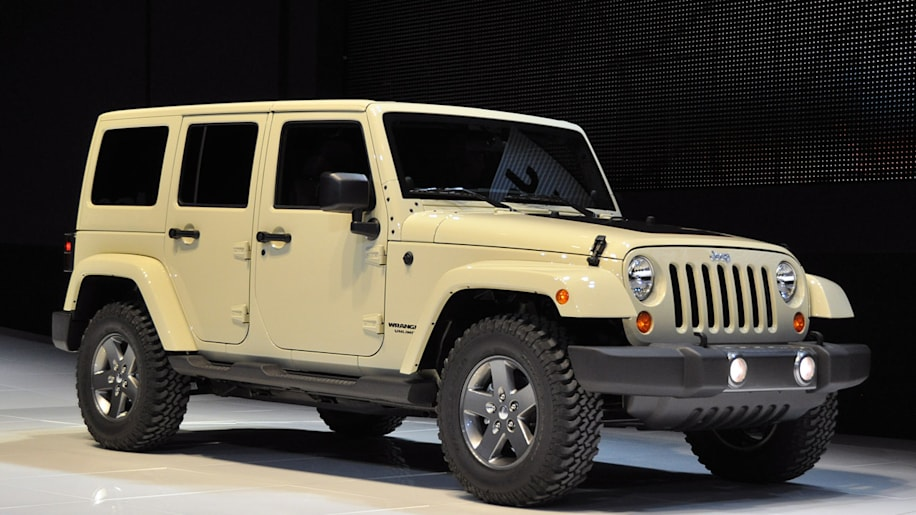2011 Jeep Wrangler Mojave at the 2011 New York Auto Show