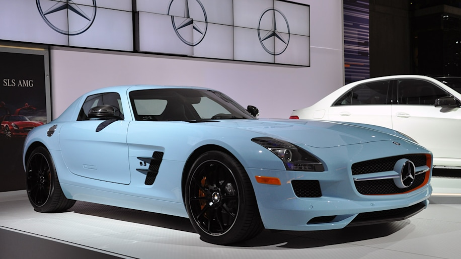 New york 2011 mercedes benz sls amg springs forward with for Mercedes benz cool springs