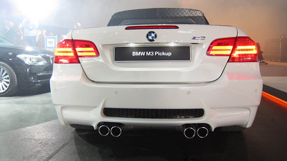 Officially Official: 420-HP BMW M3 Pickup hauls ass, nearly 1,000 ...