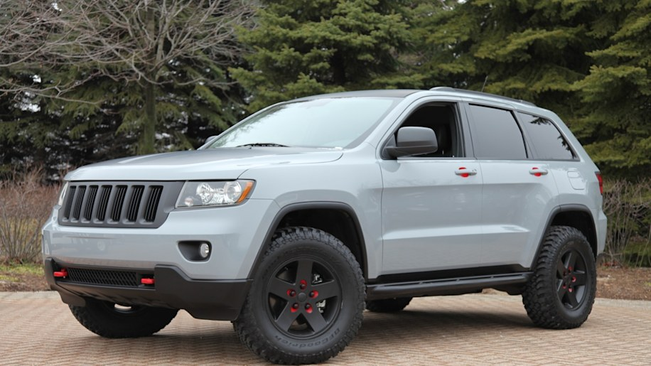 Mopar accessorized Jeep Grand Cherokee