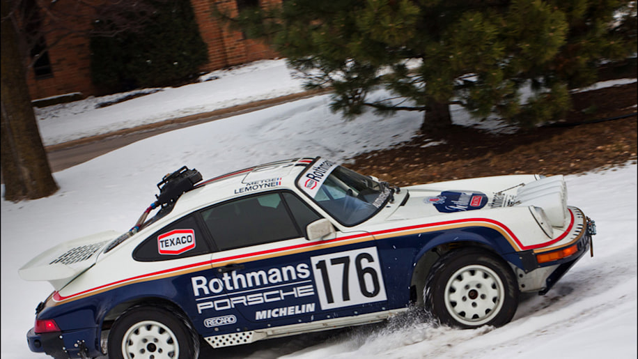 1989 Porsche 911 Rothmans tribute