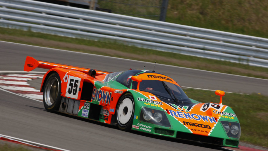 Mazda 787B restored, returning to Le Mans for 20th anniversary of ...
