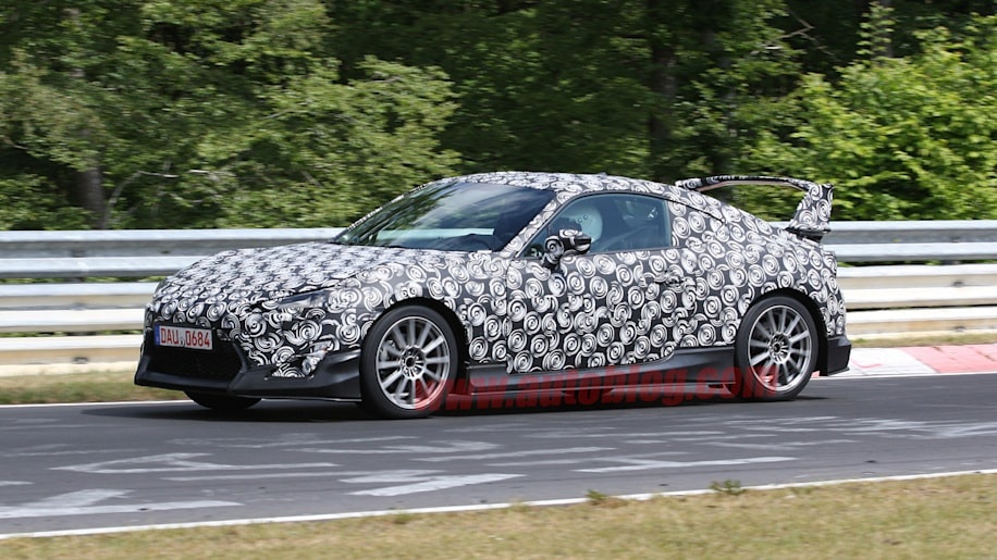 Scion FR-S: Spy Shots