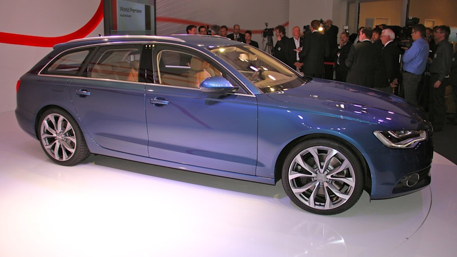 2012 audi a6 avant another wagon americans just dont get anymore 2012 audi a6 avant live unveiling sciox Choice Image