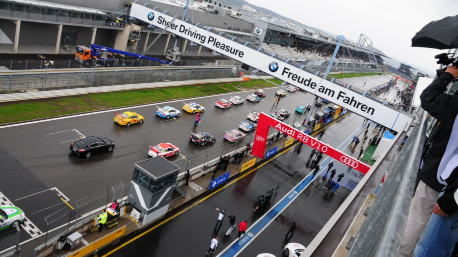 Porsche Carrera World Cup Race at 24 Hours of N�rburgring