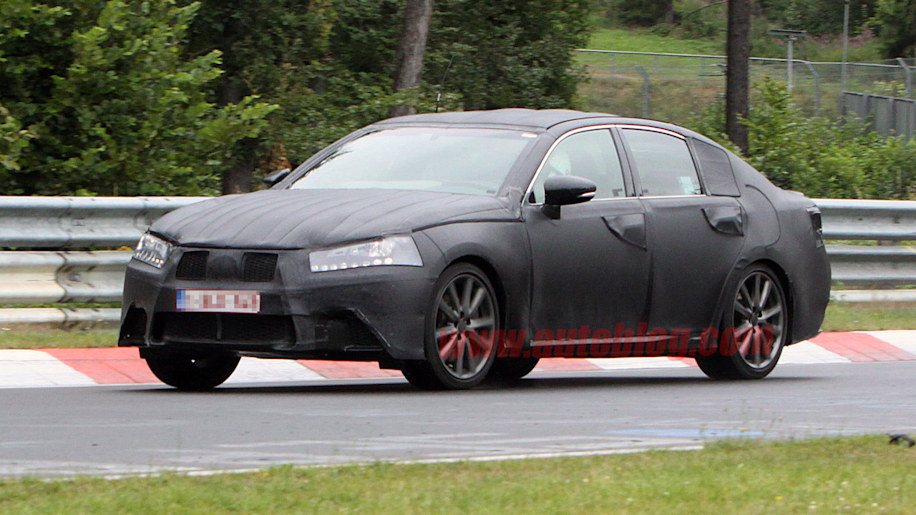 Lexus GS: Spy Shots
