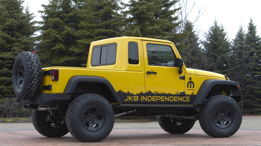 Jeep announces new Wrangler Unlimited Pickup... in kit form - Autoblog