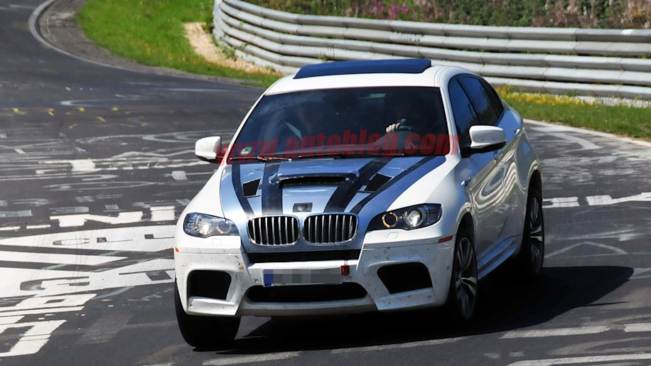 bmw x6 m with tri turbo diesel seen breathing heavy at the 39 ring autoblog. Black Bedroom Furniture Sets. Home Design Ideas