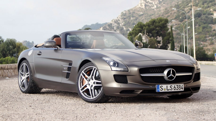 2012 mercedes benz sls amg roadster first drive photo for Mercedes benz sls amg price 2012