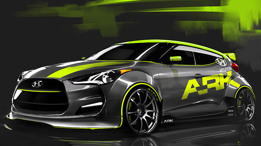 Custom Turbocharged Hyundai Veloster To Bow At Sema Autoblog