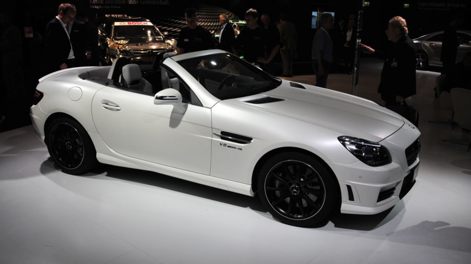 2012 mercedes benz slk55 amg frankfurt 2012 photo gallery autoblog. Black Bedroom Furniture Sets. Home Design Ideas