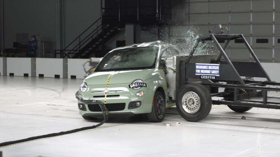 Fiat 500 Earns Iihs Top Safety Pick Photo Gallery Autoblog