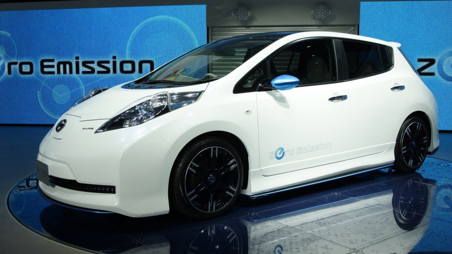 Nismo Leaf Concept Photo Gallery