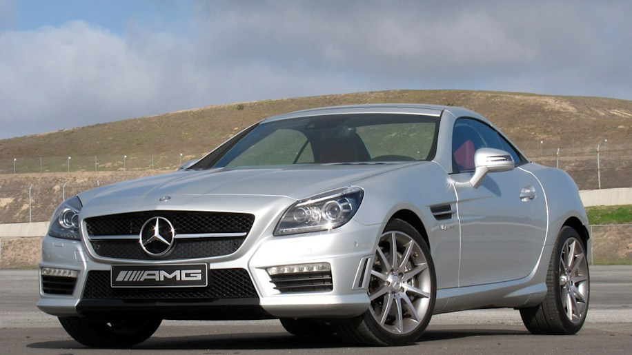 2012 mercedes benz slk55 amg autoblog. Black Bedroom Furniture Sets. Home Design Ideas