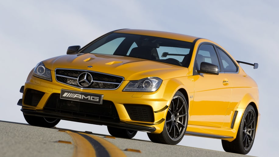 Mercedes-Benz sells out of C63 AMG Black Series coupes - Autoblog