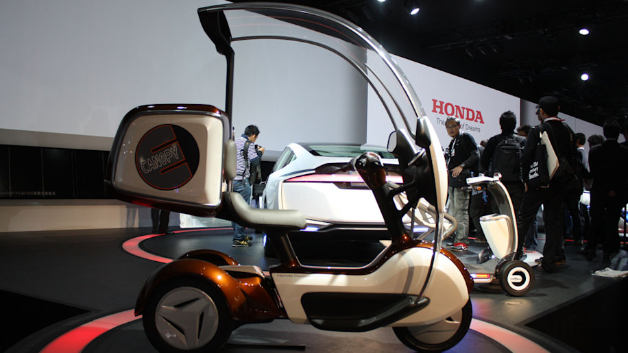 Honda E Canopy Is Mobility Minded Trike