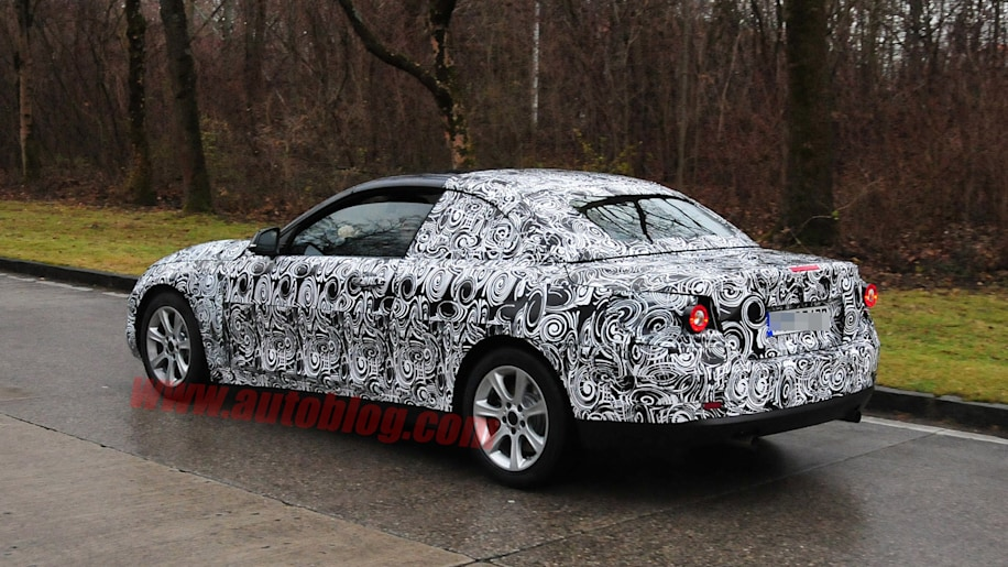 Bmw 4 Series Convertible Spotted Testing Autoblog