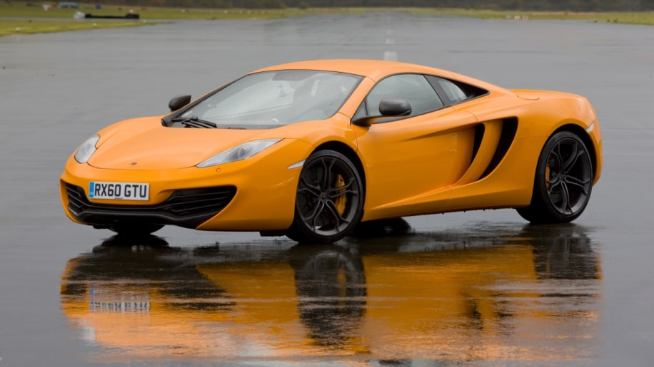getting wet with the mclaren mp4 12c at the stig s stomping grounds rh autoblog com Back McLaren MP4-12C McLaren MP4-12C Wallpaper