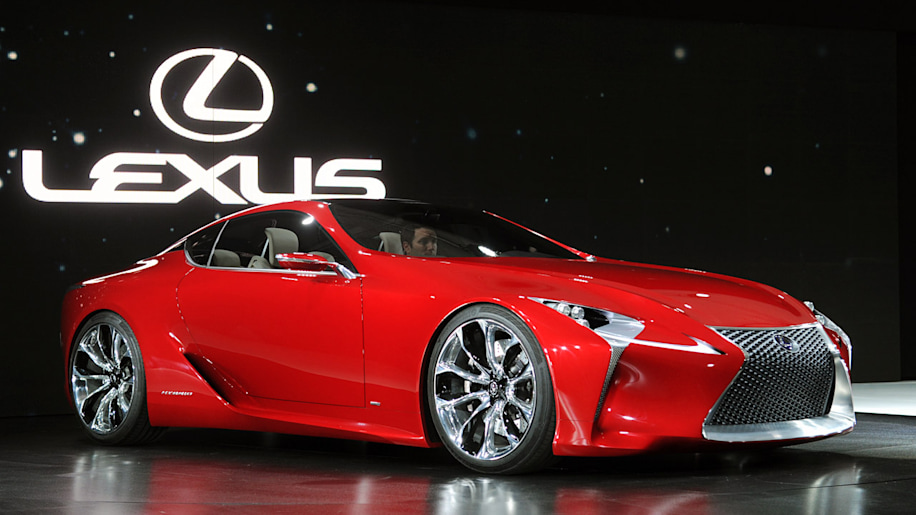 Lexus looking for performance with 600-hp LF-LC?