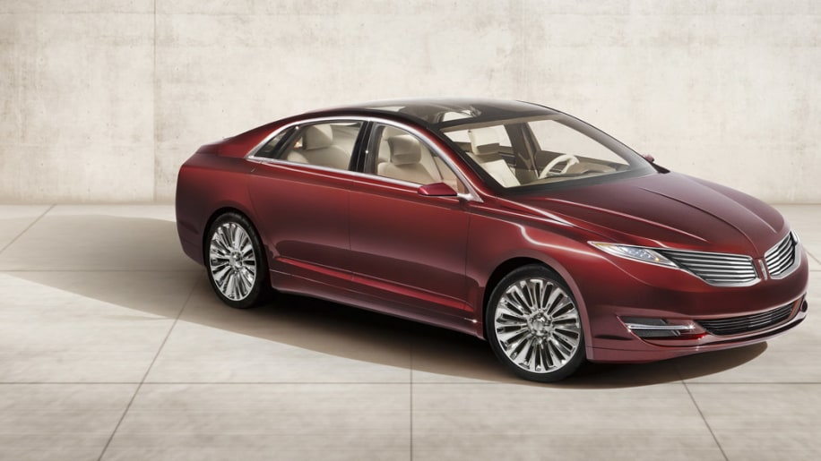 Lincoln Mkz Concept Gives Sleeker Shape To Familiar Face