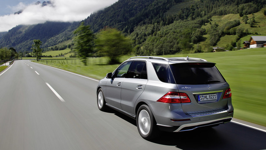 Mercedes Ml Off Road Review