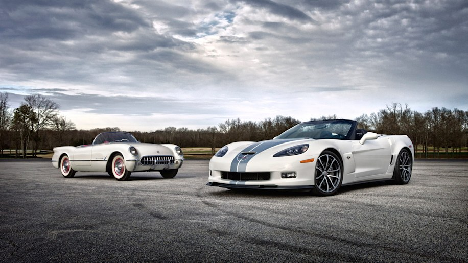 chevy sending off c6 corvette with 427 convertible and 60th anniversary package autoblog. Black Bedroom Furniture Sets. Home Design Ideas