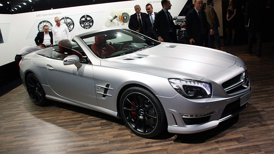 2013 Mercedes-Benz SL63 AMG is big and beastly, not so beautiful ...