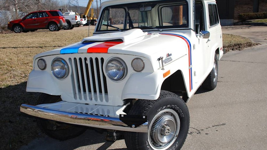 jeep jeepster ebay find of the day 1970 jeep jeepster commando hurst autoblog