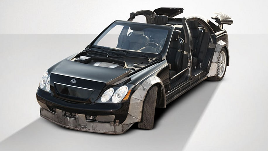 Jay-Z and Kanye's wrecked Maybach fetches just $60,000 at auction [w