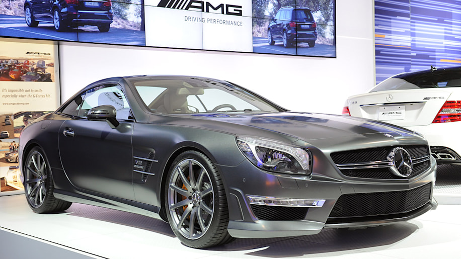2013 mercedes benz sl65 amg packs an earth moving 738 for 2013 mercedes benz sl65 amg