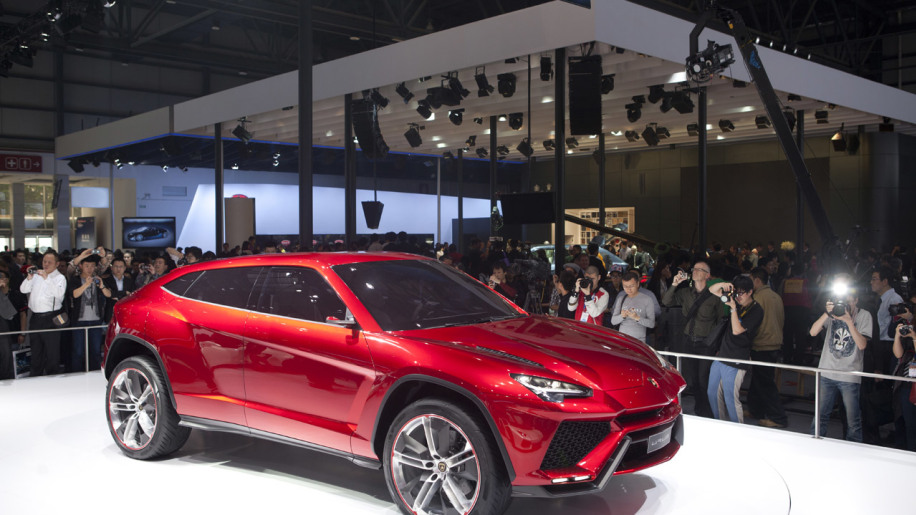 Lamborghini reportedly confirms Urus for production in 2017