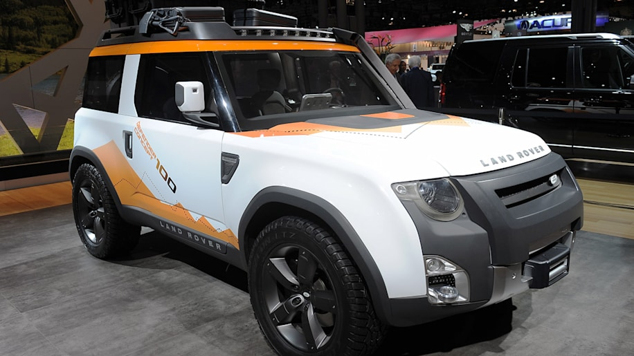 Land Rover brings expeditionminded DC100 concept and LR4 special