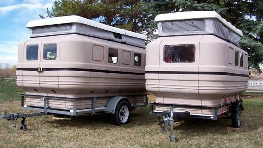 Modular Teal Camper Photo Gallery Autoblog