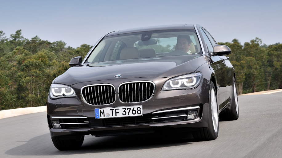 Worksheet. 2013 BMW 7 Series arrives with more power gadgets and safety w