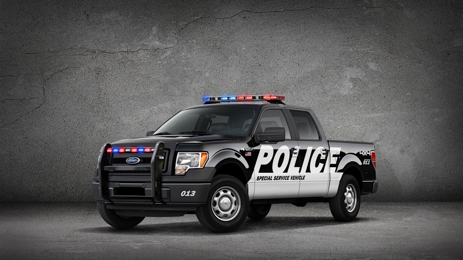 Ford F 150 Special Service Vehicle Package Photo Gallery