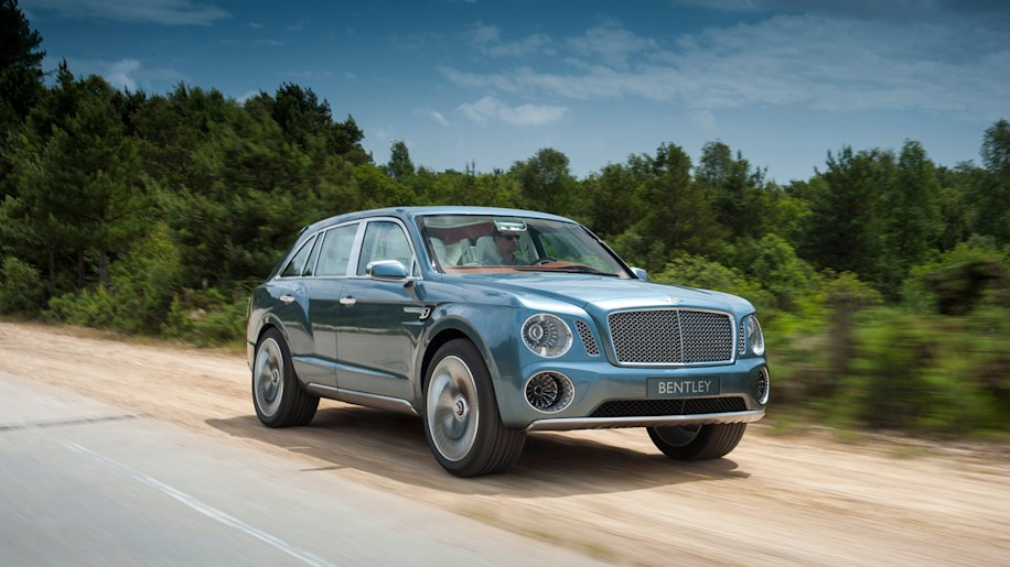 Bentley's SUV will be first of many plug-in hybrids