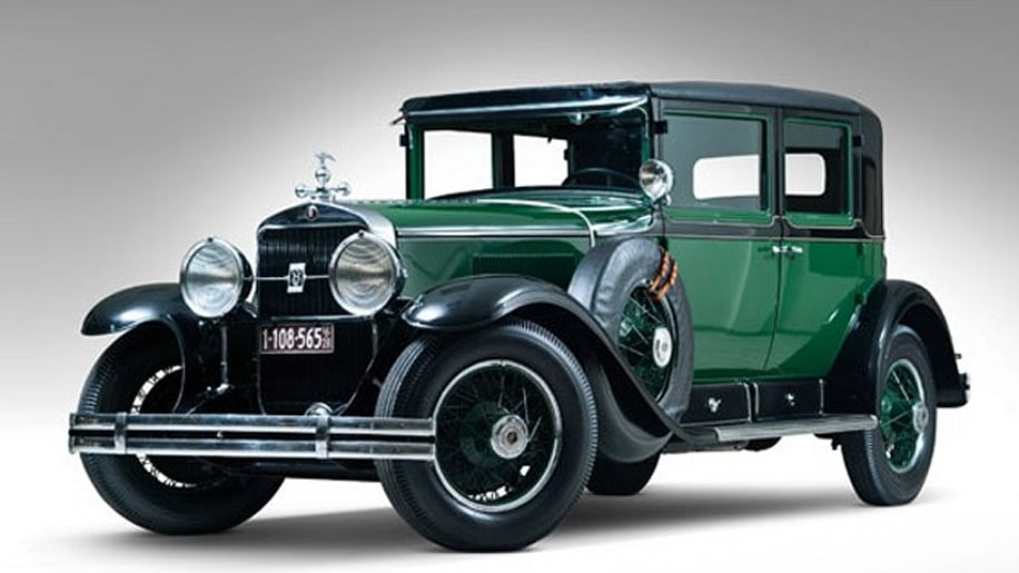Al Capone's 1928 Cadillac V8 Town Sedan Photo Gallery - Autoblog