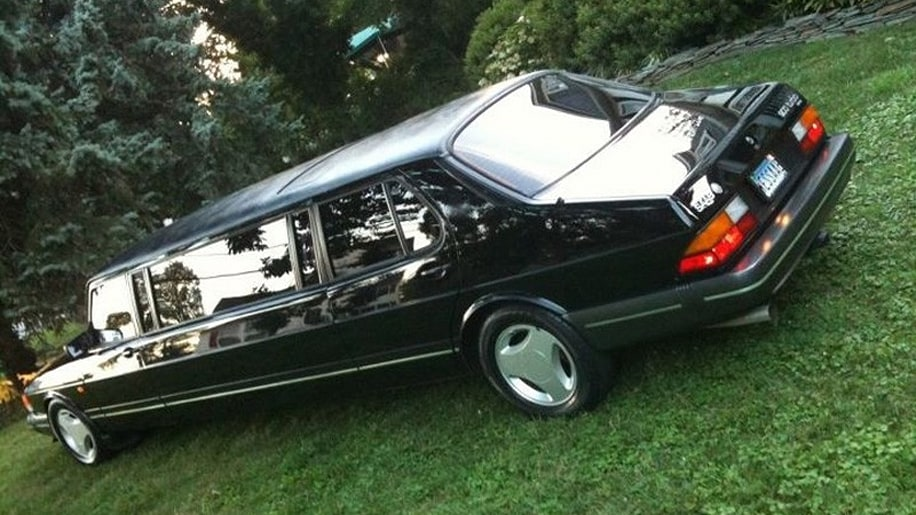 Ebay Find Of The Day 1985 Saab Turbo Limo Is The Ultimate
