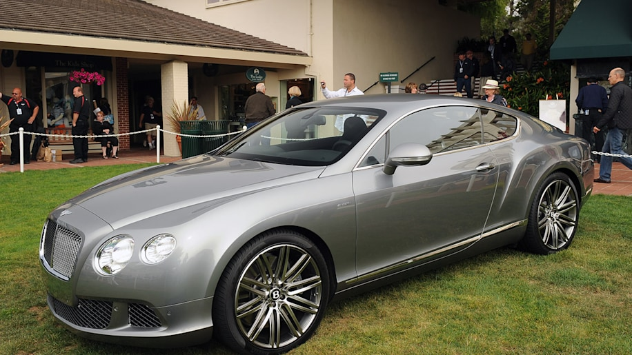 2013 Bentley Continental GT Speed makes its North American debut ...