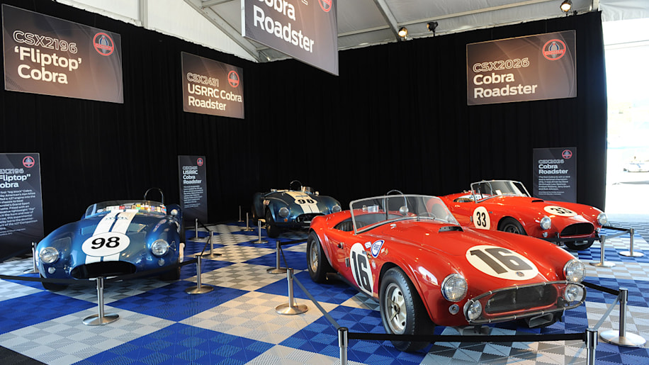 Shelby Cobra Heritage Display