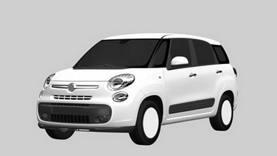 seven seat fiat 500xl leaked ahead of paris debut autoblog. Black Bedroom Furniture Sets. Home Design Ideas